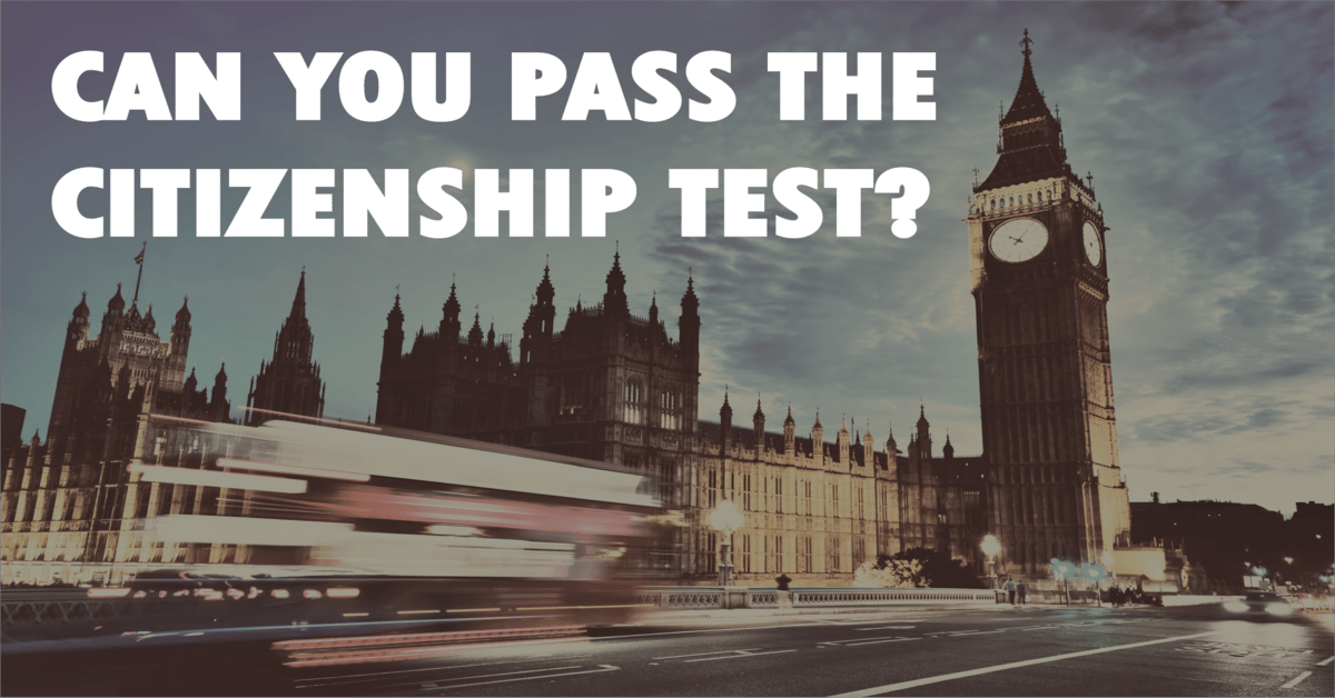 Life in the UK Test 2019 - Free Practice Questions - Realistic Tests